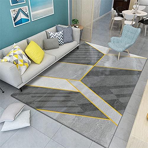 Tappeti Stanza Da Letto Tappeto Per Gatti Arredamento Camera Moquette soggiorno grigio moderno design geometrico tappeto all'aperto resistente acqua resistente 40X60cm