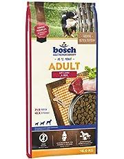 bosch HPC Adult mit Lamm & Reis | Hundetrockenfutter für ausgewachsene Hunde aller Rassen | 1 x 15 kg