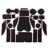 NCUIXZH Alfombrillas Antideslizantes Alfombrilla Antideslizante con Ranura para Puerta, para Lexus RX RX270 RX350 RX450h 2010-2015 2014270350 450h Accesorios
