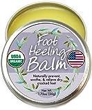 Best Cracked Heel Creams - Organic Heel Balm For Dry Cracked Feet Review