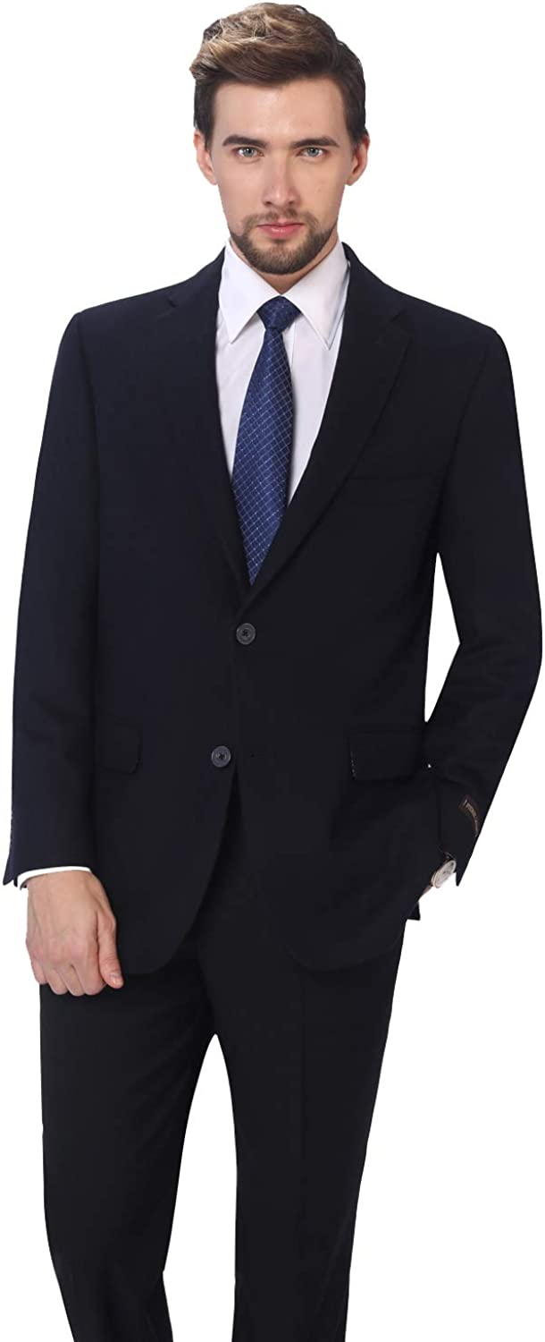 Long Beach Mall PL Men's Limited time for free shipping Premium Wool Blend Business N Blazer Dress Suit Jacket