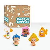 Bubble Guppies 5-Piece Bath Toy Play Set, Includes Gil, Molly, Deema, Mr. Grouper, and Bubble Puppy - Amazon Exclusive