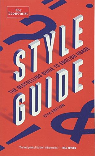 Download Style Guide (Economist Books) 1610399811