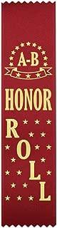 A-B Honor Roll Award Ribbons - 100 Count Bulk Pack