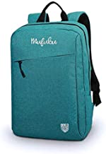 Mufubu Presents Iconic Slim Casual Laptop Backpack Bag for Students & Office Professionals (Amber Green)