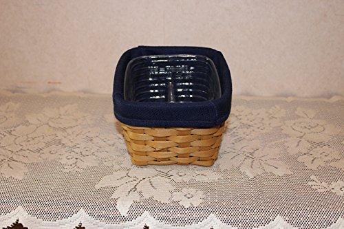 Longaberger Small Desktop Organizer Basket Combo