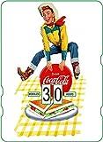 Calendario perpetuo vintage CocaCola The Boy.