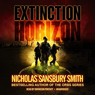Extinction Horizon audiobook cover art