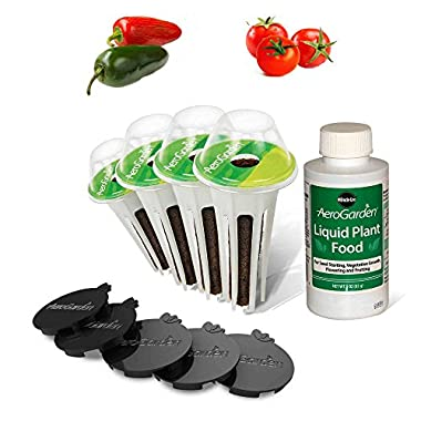 AeroGarden Salsa Garden Seed Pod Kit (4-Pod)