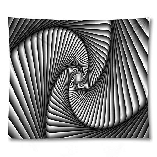 PPOU Tapiz 3D Colgante de Pared Arte Bohemio Toalla de Playa sofá Manta decoración de la Pared del hogar Tapiz de Tela de Fondo A5 150x200cm