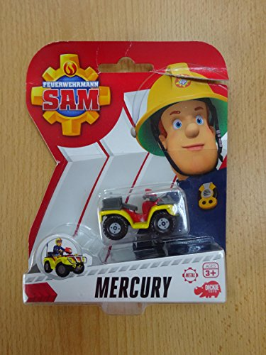 Feuerwehrmann Sam - Mini Die Cast Serie - Quad Mercury