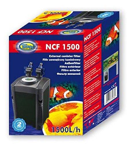 Aqua Nova NCF-1500 išorinis filtras iki 500L akvariumui 20W 1500L/val