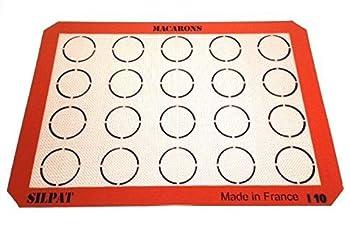 Silpat AE420295-22 Macaron Mat  2 Pack