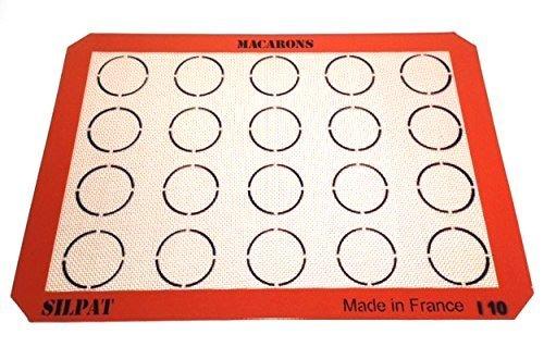 Silpat AE420295-22 Macaron Mat (2 Pack)