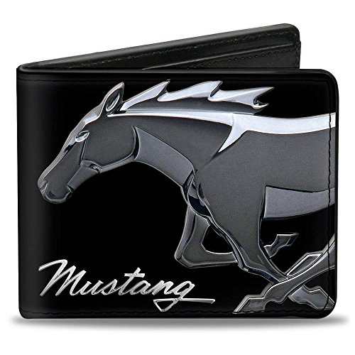 Buckle-Down Bifold Wallet Mustang