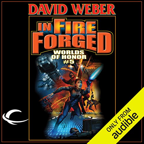 In Fire Forged audiobook cover art