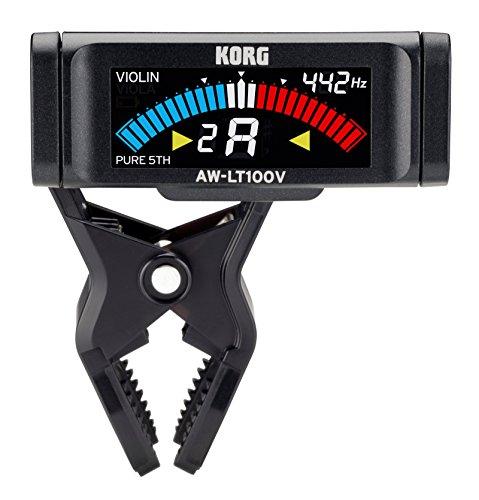 KORG Stimmgerät, chromatisch, AW-LT100 V, Clip-On, schwarz