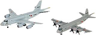 ピットロード 1/700 スカイウェーブシリーズ 海上自衛隊 哨戒機セット P-1/P-3C哨戒機 各2機入り プラモデル S44