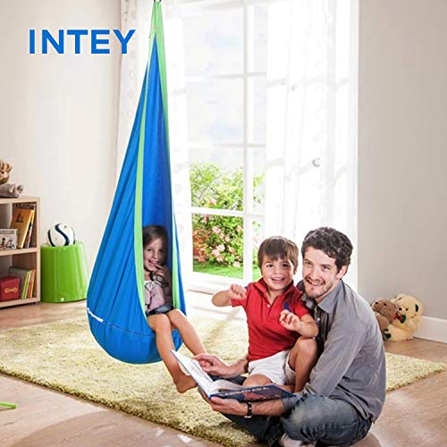 Intey Kids Pod Swing Seat Child Hanging Hammock Chair For Import It All