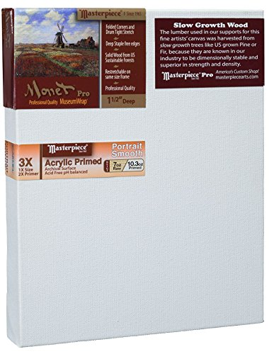 Masterpiece Artist Canvas MC-1117 Monet Pro 1-1/2' Deep, 11'...