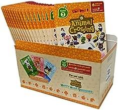 $93 » Animal Crossing Amiibo Cards Series 2 – Full box (18 Packs) (6 Cards Per Pack/108 Cards)