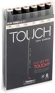 ShinHanart Touch Twin Markers Skin Tones 12er Set Grafikmarker Graffiti Design