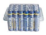 Varta 11582403 Alkaline Batterie (Micro, AAA, LR03, 24er Box) blau/gelb/weiß