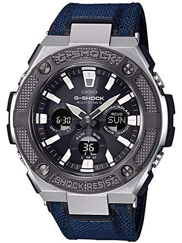 Casio Herren Analog – Digital Quarz Uhr mit Textil Armband GST-W330AC-2AER