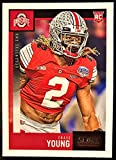 NEW 2020 Score Football CHASE YOUNG Rookie Card # 338 - Ohio State Buckeyes. rookie card picture