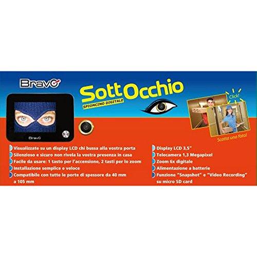 Spioncino digitale elettronico SOTTOCCHIO con possibilità...