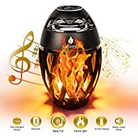 Anerimst Flame Ambience Lantern Outdoor Led Bluetooth Speaker