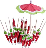 Cocktail Umbrellas,50 Pack Drink Decoration Parasols for Bar Cocktail Decorating Supplies Drinking Fruits Food Wine Party Muticolors 10CM