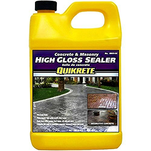 Quikrete Concrete and Masonry High Gloss Paver Sealer