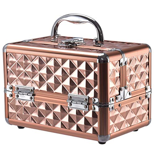 DREAMADE Kosmetikkoffer Mini, Schminkkoffer Make-up Multikoffer, Beauty Case, Make-up Box...