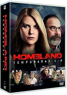 Homeland Complete Seasons 1-4 Home land - Seasons One, Two, Three & Four Reg.A/B/C Spain