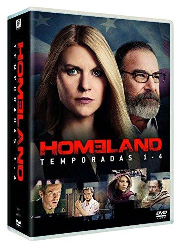 HOMELAND: TEMPORADA 1-4 (Spanien Import, siehe Details für Sprachen)