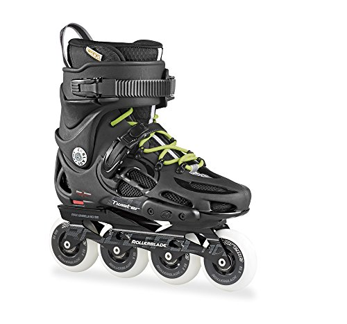 Rollerblade Men's Twister 80 Urban Skate 2015, Black/Green, US 7.5