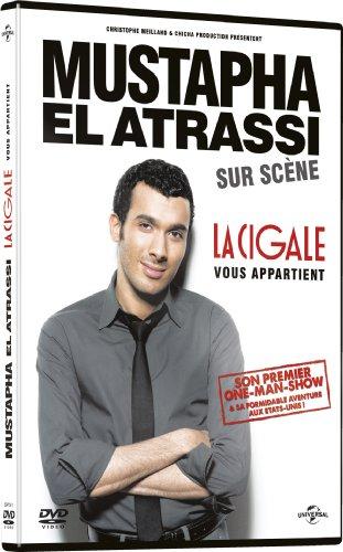 Mustapha El Atrassi sur scène-La Cigale Vous Appartient