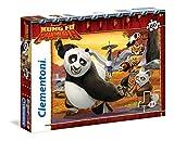 Clementoni 26942 - Kung Fu Panda 2 Puzzle, 60 Pezzi