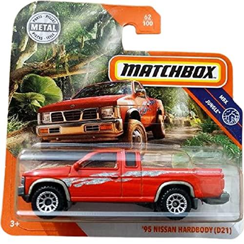 Matchbox '95 Nissan Hardbody (D21) MBX Jungle 62/100 2021 Short Card