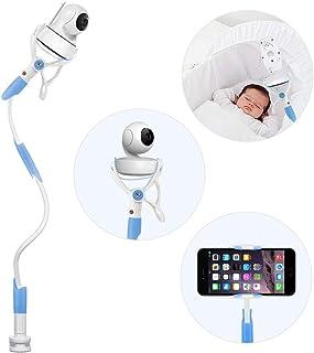 Universal babykamerafäst, YIKANWEN babymonitor hållare och hylla kompatibel med de flesta babyskärmar, flexibelt kamerasta...