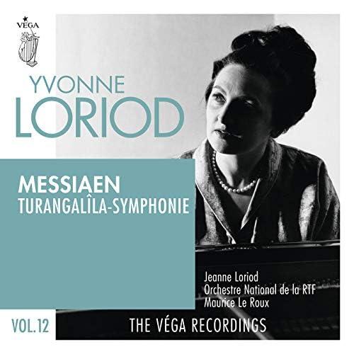 Yvonne Loriod, Maurice Le Roux, Orchestre National de la RTF & Jeanne Loriod