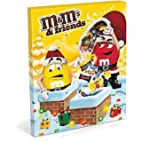 Calendrier de l' avent 2016 en chocolat au lait M&M's and friends