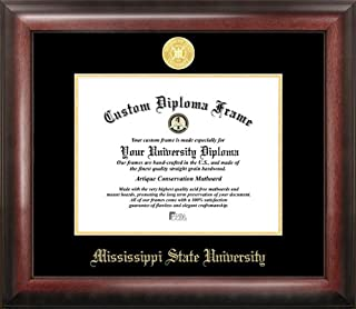 Campus Images Mississippi State Gold Embossed Diploma Frame