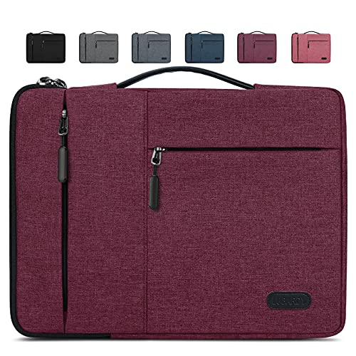 Lubardy Laptophülle 15,6 Zoll Stoßfest Laptoptasche Schutzhülle Wasserdicht Laptop Sleeve Hülle Kompatibel mit MacBook Pro 15-15,6
