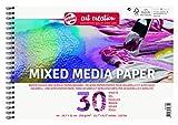Talens Art Creation TAC Media FSC-Mix-Papel (A4, 250 g/m², 30 Hojas),...