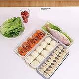 Ksruee Caja para Ravioles - Caja de Almacenamiento para Refrigerador - Cajas de Cocina para Hogar