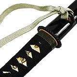DerShogun Hamidashi Tanto schwarz mit Klinge aus 1095 Stahl