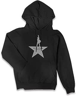 VJJ AIDEAR Hamilton Lady Women's Sweater Long Sleeve Hoodie with Pocket Black