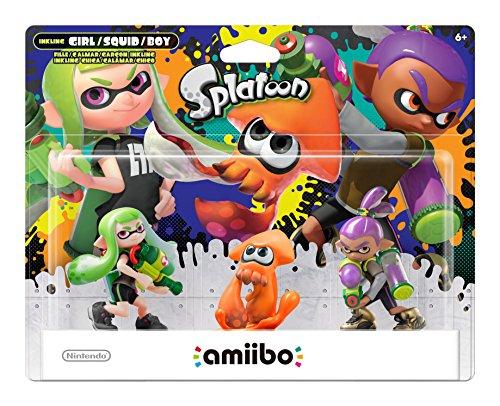Nintendo Splatoon Series 3-Pack (Alt Colors) amiibo - Nintendo Wii U